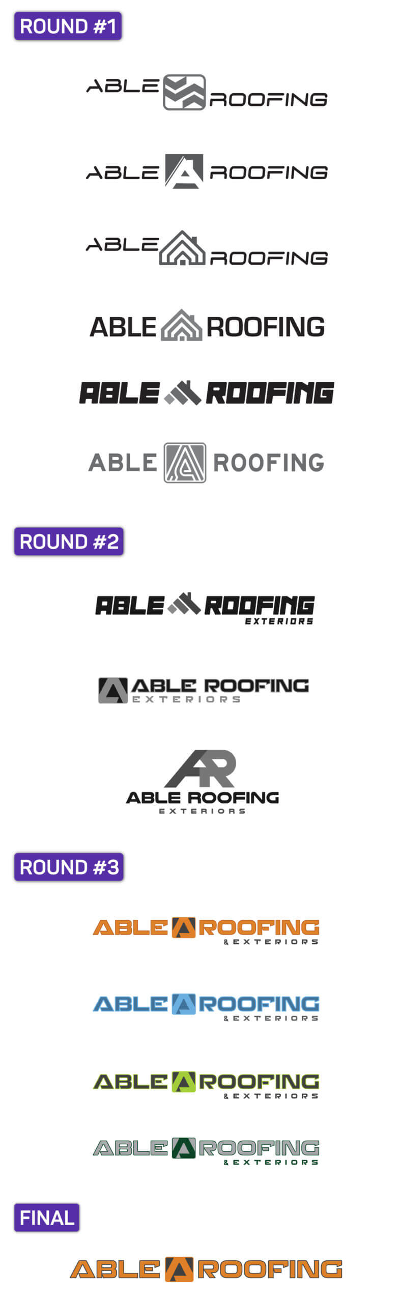 Able Roofing Logo Scroller
