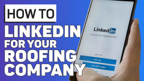 Summa Youtube Thumbnails LinkedIn for Your Roofing Company 1